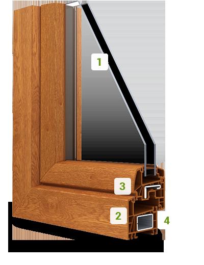 la fen tre pvc ambre design galb art fen tres pose de fen tres pvc. Black Bedroom Furniture Sets. Home Design Ideas