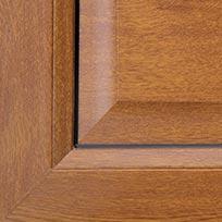 La fen tre pvc ambre design galb art fen tres pose de for Fenetre pvc couleur chene