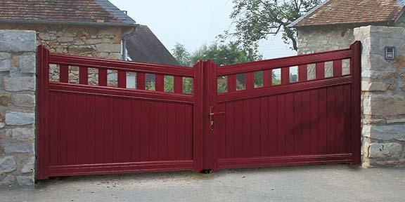 Portail alu design et portail contemporain - Art & Fenêtres ...