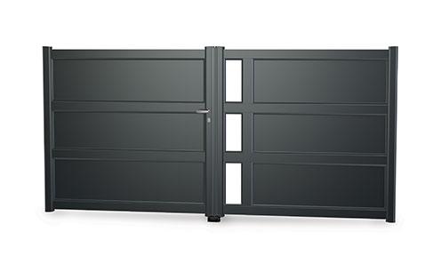 Le Portail Aluminium Grand Large Art Fenetres Fabricant De
