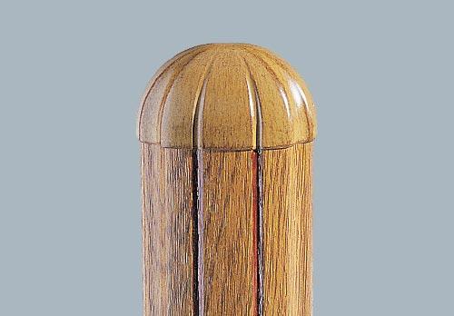barreaudage en applique bombé mouluré chêne doré