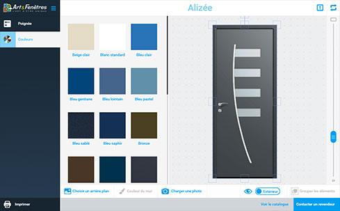 Porte Monobloc Aluminium Pour Votre Porte Dentrée Art Et Fenêtres