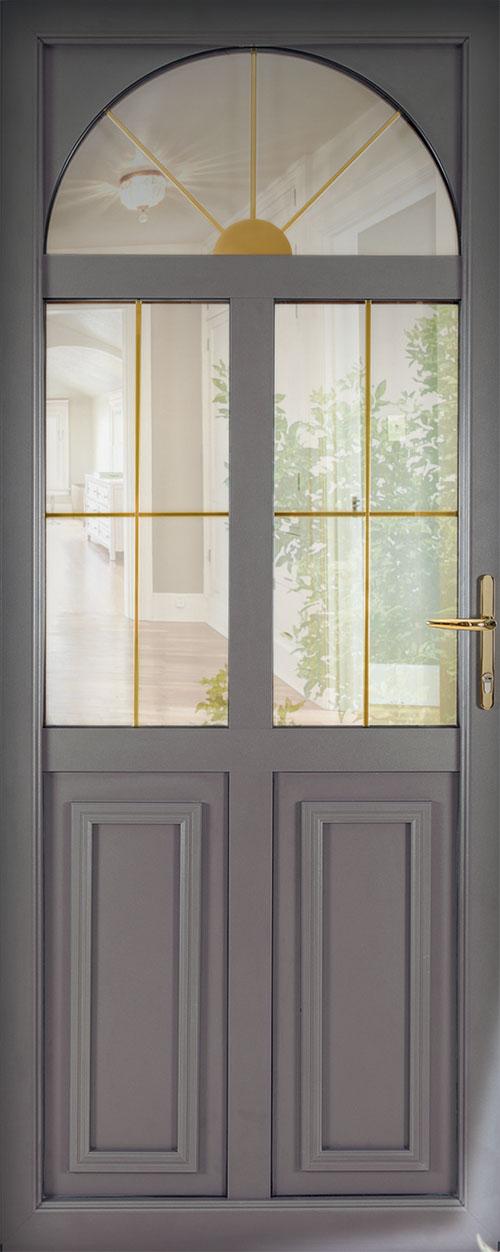 Les portes d 39 entr e mixte bois et alu d 39 art fen tres for Fabricant de porte et fenetre