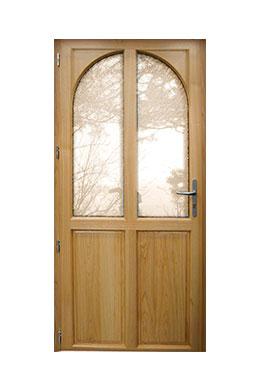 Les portes d 39 entr e mixte bois et alu d 39 art fen tres - Prix d une porte d entree en bois ...