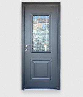 Les portes d 39 entr e aluminium r sistantes la gamme des portes en alu for Porte entree alu contemporaine