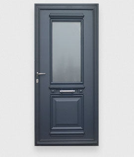 les portes d 39 entr e aluminium r sistantes la gamme des portes en alu. Black Bedroom Furniture Sets. Home Design Ideas