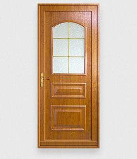 Les portes d 39 entr e en pvc d 39 art et fen tres fabrication for Fenetre pvc imitation bois prix