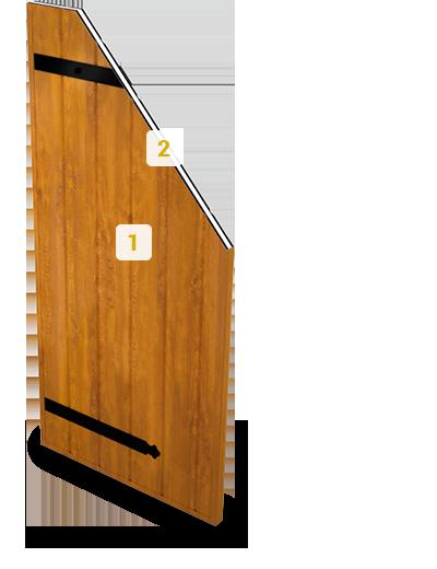 volets battants alu aspect bois pour vos fermetures art et fen tres. Black Bedroom Furniture Sets. Home Design Ideas