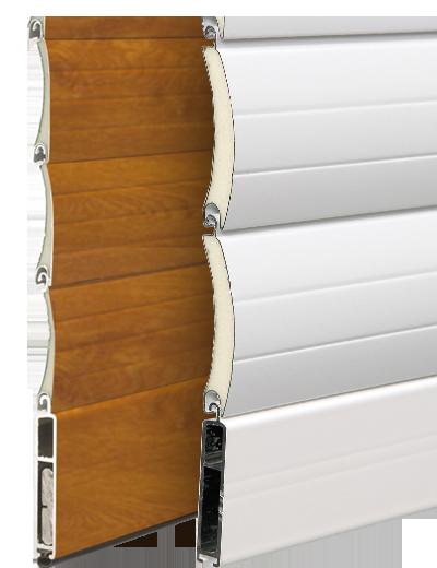 Volets roulants alu avec coffre int rieur art et for Isolation coffre volet roulant interieur