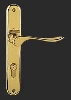 Porte d 39 entr e pvc sur mesure et personnalis e art et for Poignee porte d entree exterieure