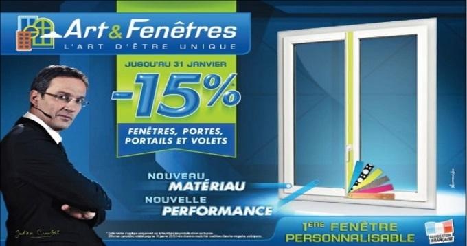 Promotion sur les fenetres portes et portails avec 15 for Arts et fenetres